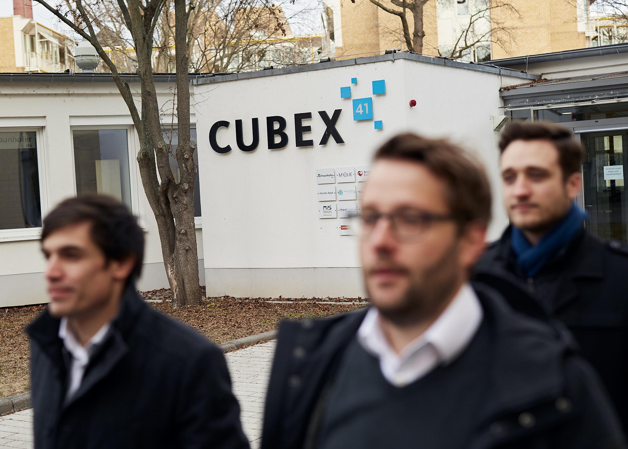 Das Cubex ist nationaler Hotspot für Med-Tech-Gründungen