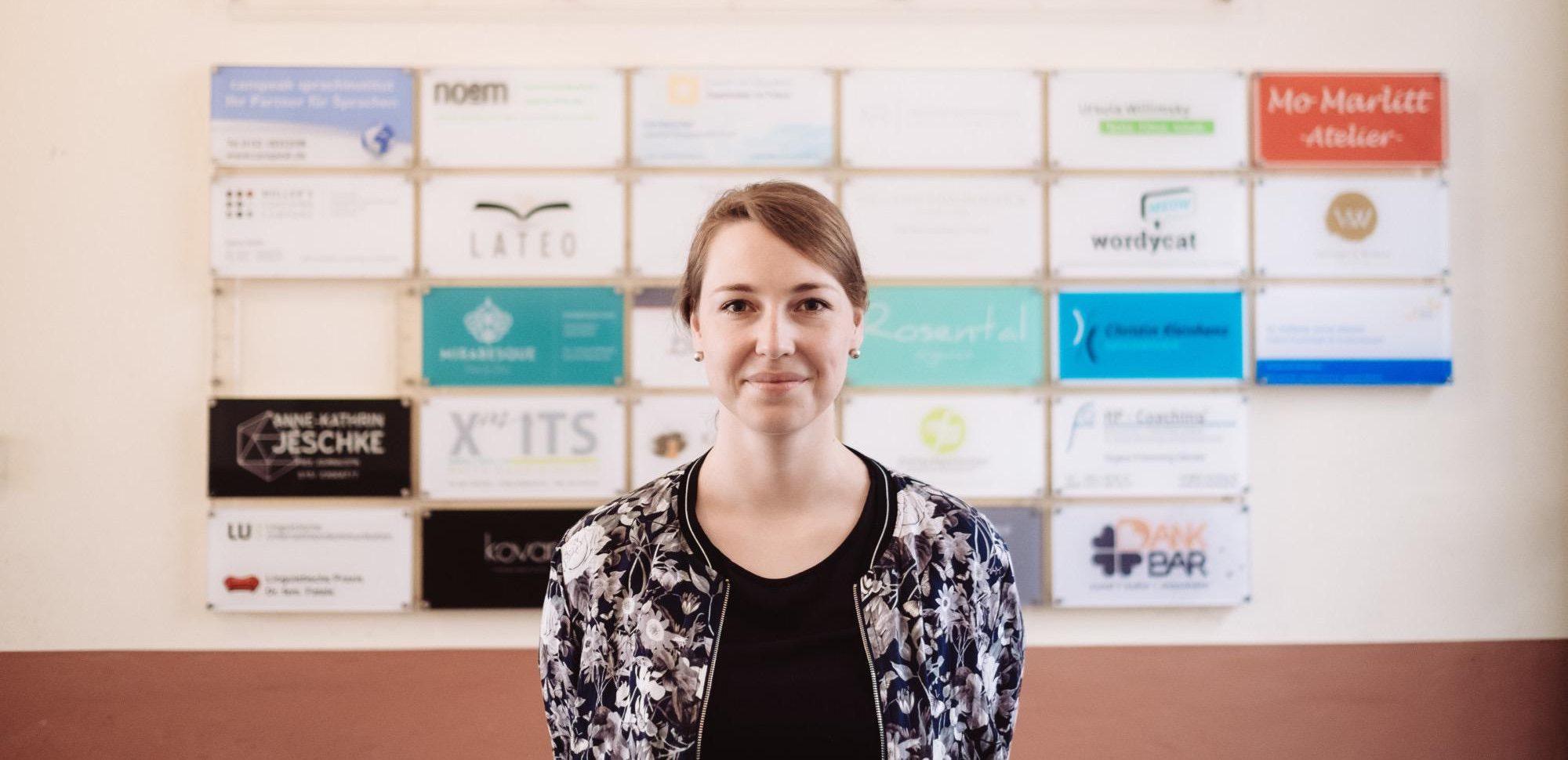 Zentrumsleiterin Lena Rübelmann und ihr Team freuen sich auf Deine Bewerbung