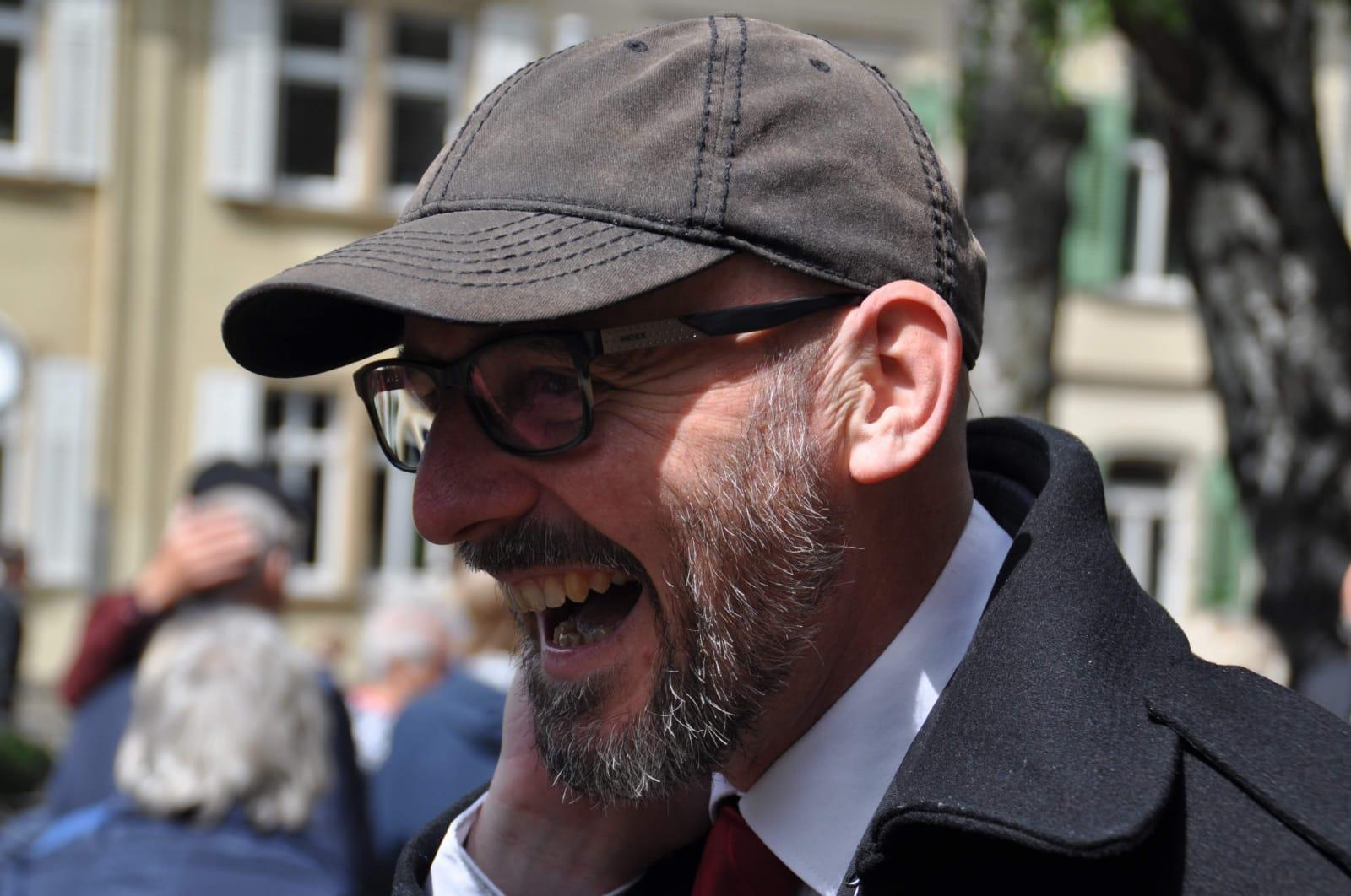 Hat ein offenes Ohr: Theologe Maximilian Heßlein