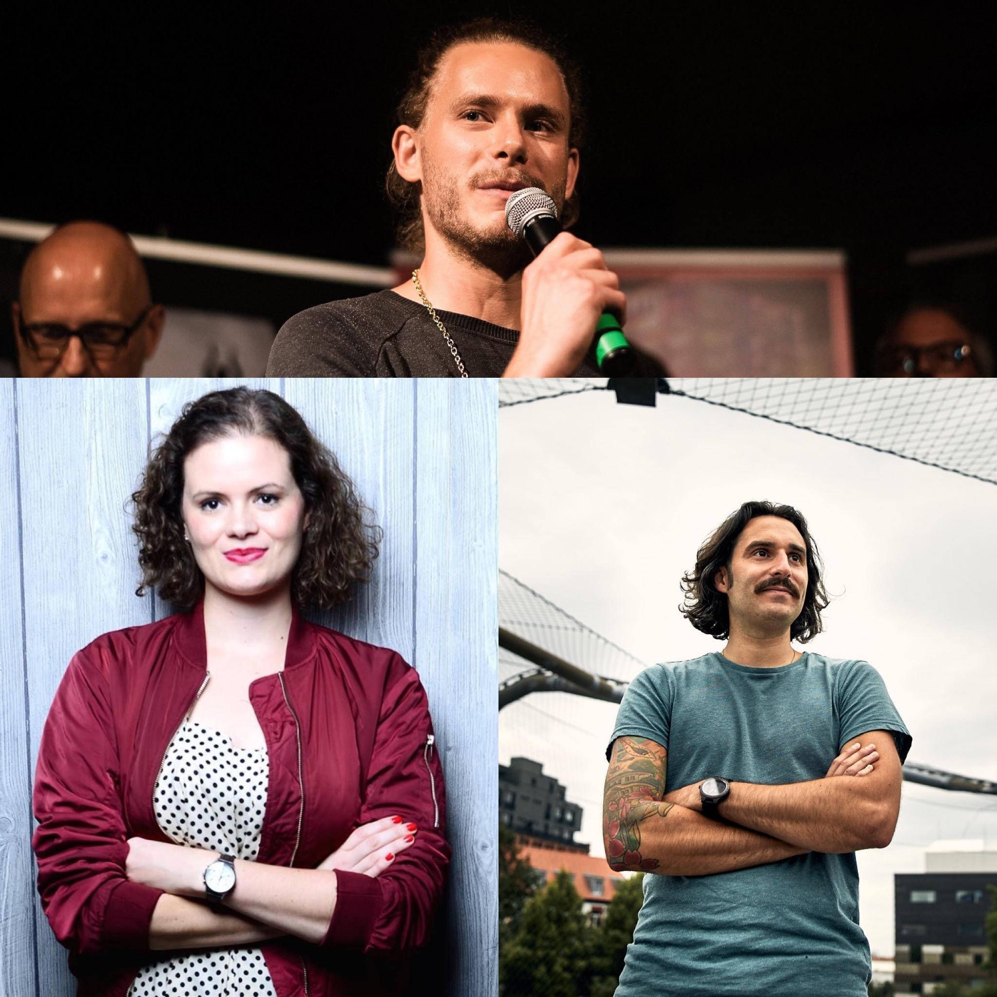 Stehen euch unter anderem mit Rat und Tat zur Seite: Anna Blaich (2. Vorsitzende Eventkultur Rhein-Neckar), Hendrik Meier und Nachtbürgermeister Robert Gaa