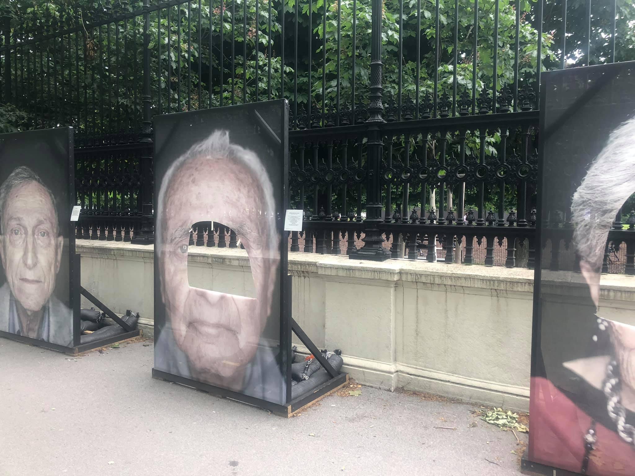 Eines der in Wien zerstörten Portraits
