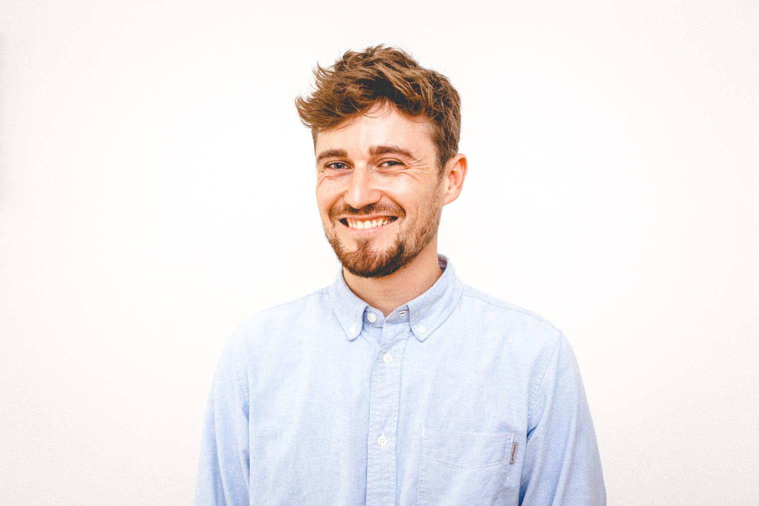 Jakob Höflich, Co-Gründer von Cyanite. Foto: Maxim Abrossimow