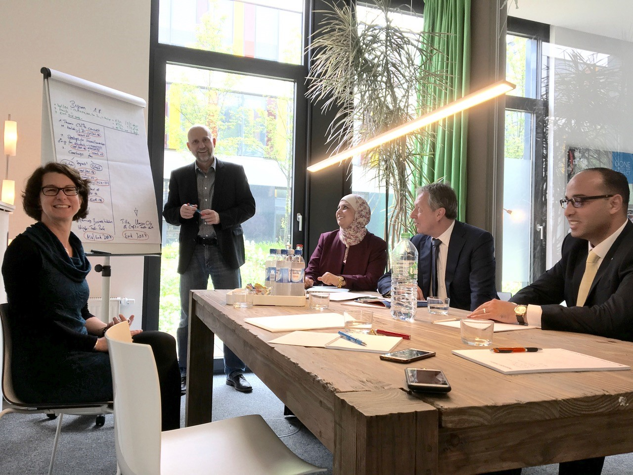 Festlegung Agenda HEMA-Projekt mit OB Dr. Kurz