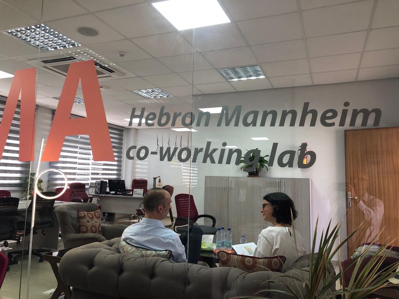 Verwaltungsbereich des HEMA Coworking Labs