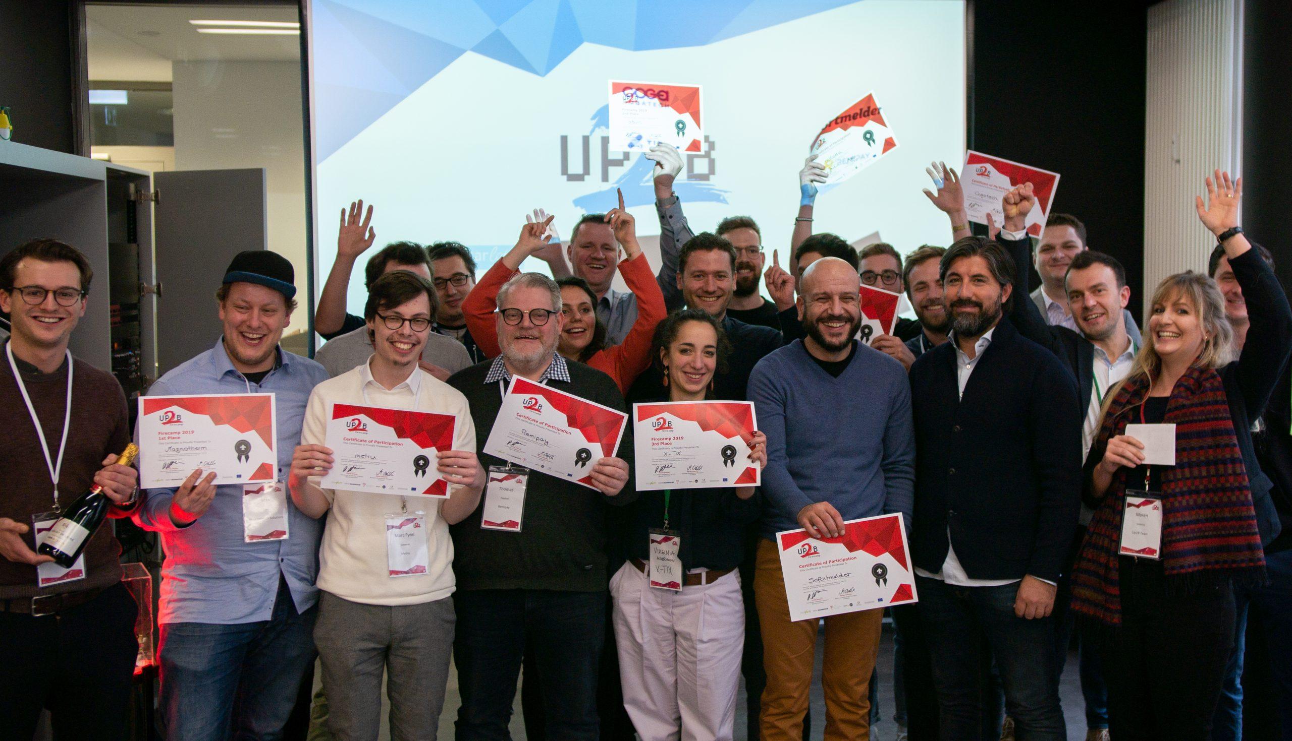 Up2B Firecamp - Finale 2019