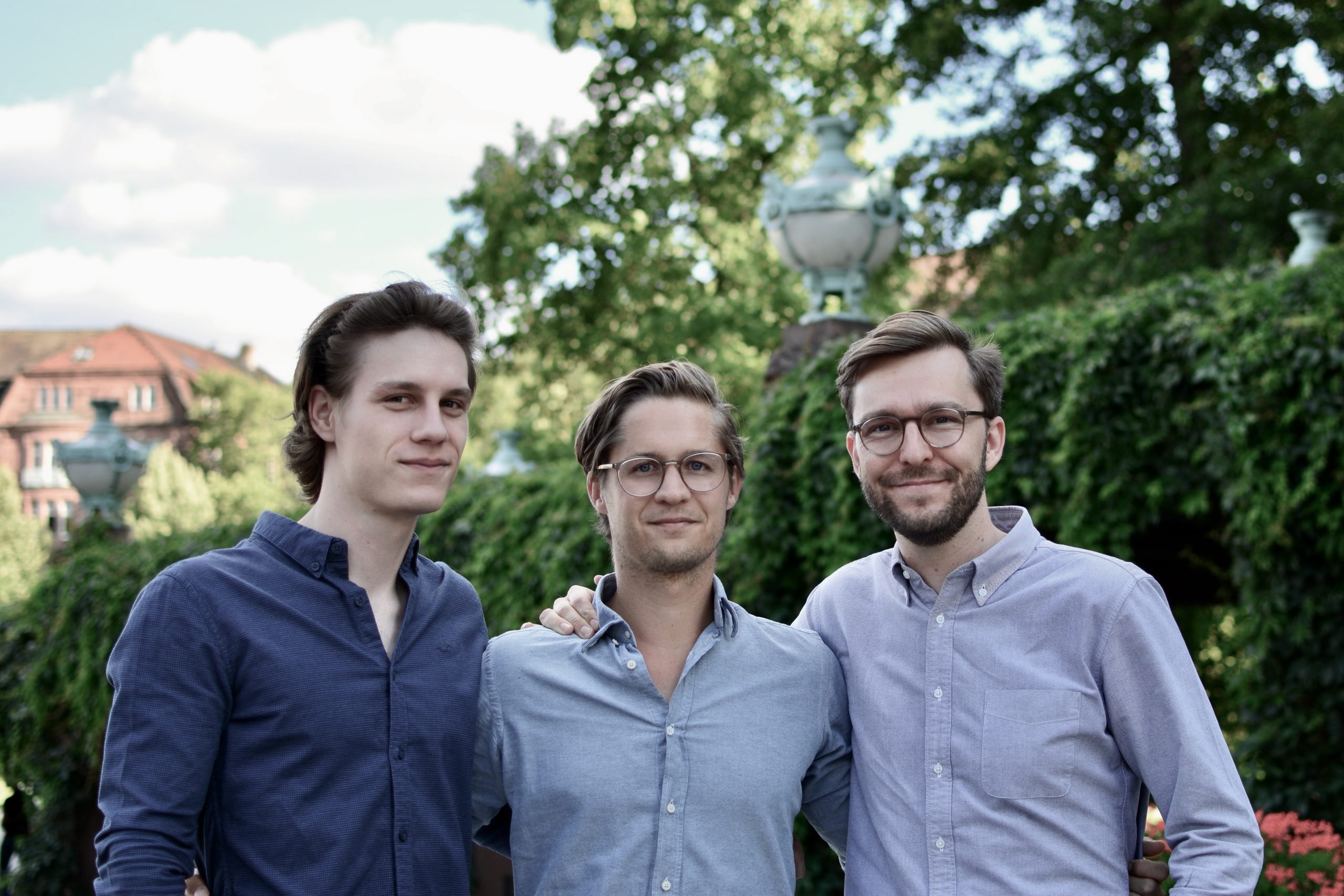 Gründer MARA Solutions GmbH: Ingo Lange, Dr. Tobias Roelen-Blasberg, Dr. Maximilian Lüders