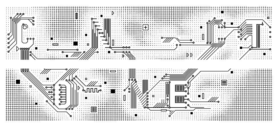 Das fertige Design für den Connect Schriftzug vom Floyds Grafik Studio