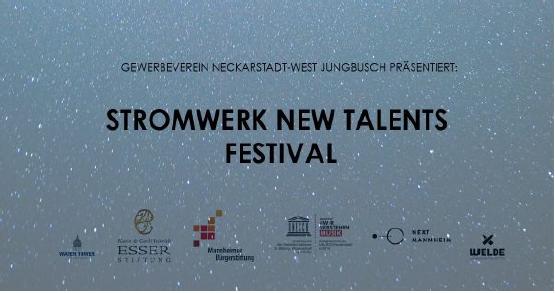 Das New Talents Festival wird von der Karin und Carl Heinrich Esser Stiftung, NEXT MANNHEIM und dem Capitol unterstützt.