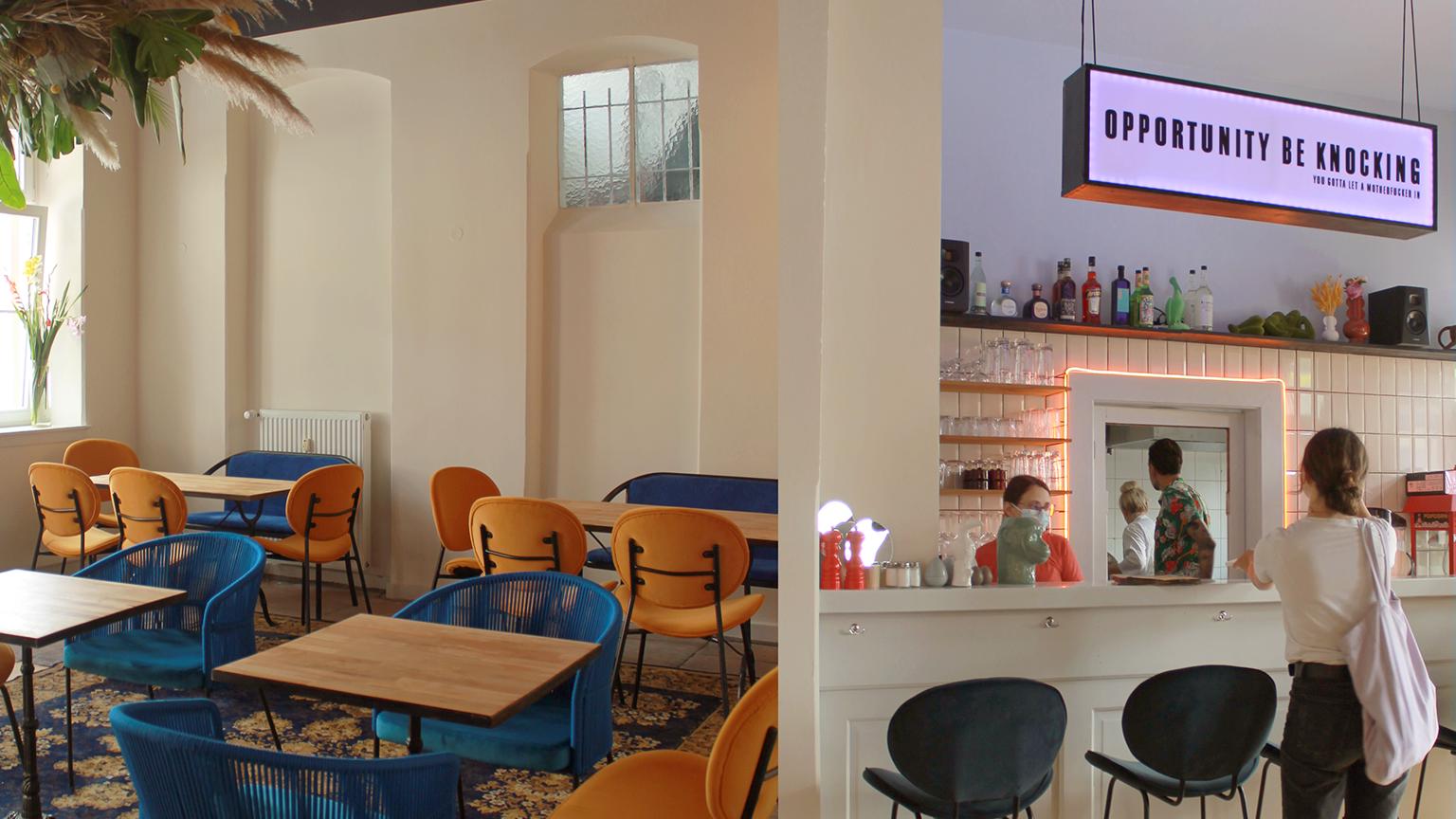 Neueröffnung des Café Tropical im GIG7