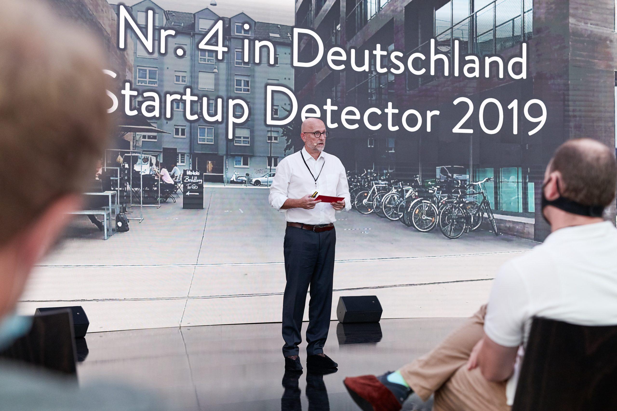 Auch beim Startup Detector 2019 belegt Mannheim Spitzenplätze