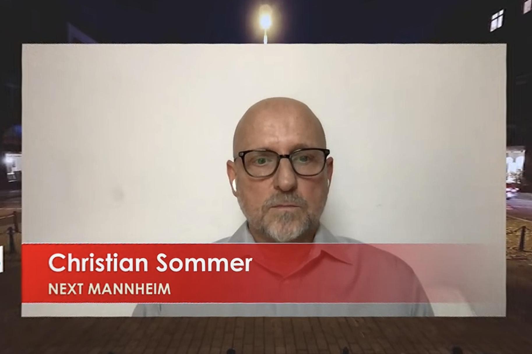 Christian Sommer, Geschäftsführer Next Mannheim