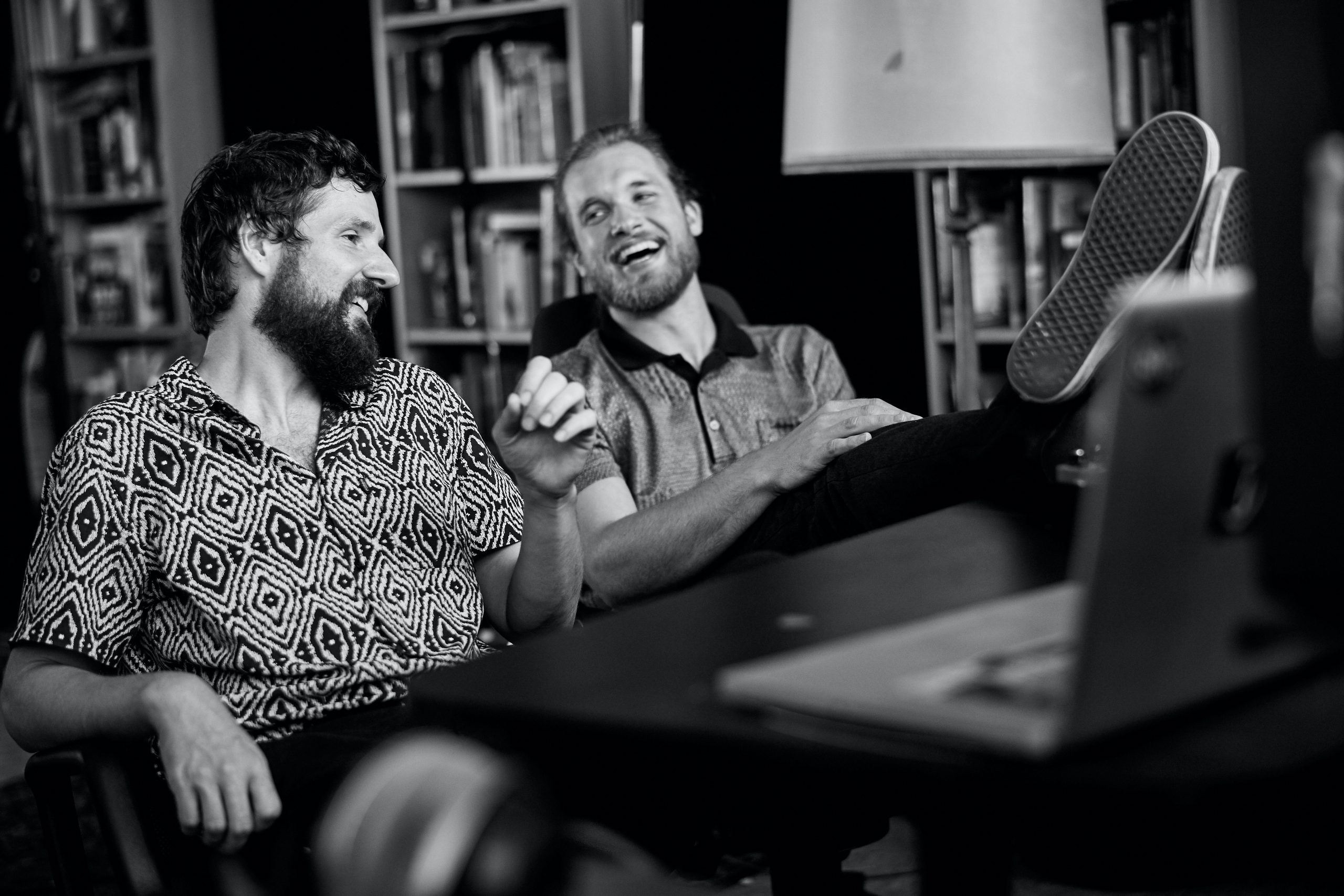 Musiker, Coaches, Netzwerker und Gründer: Die OSTAR-Macher Stefan Wandel (links) und Thomas Woschitz.